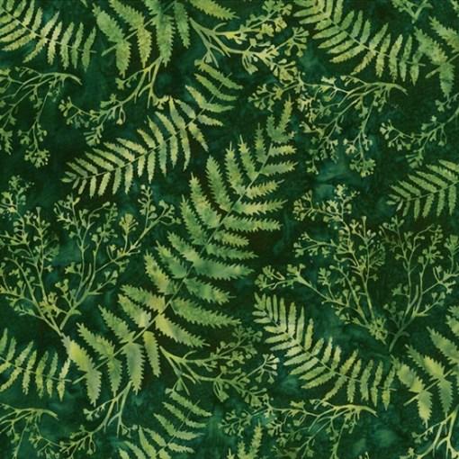 green fern batik hoffman fabrics s2 313 220