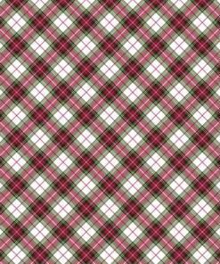red plaid diagonal tartan marcus fabric