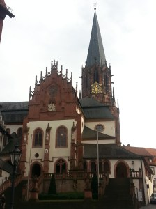 Ancient church in Frankfurt