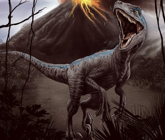 The Jurassic World Fallen Kingdom Poster Was Created By Artist Sara Deck The Poster Will Be Available At Screenings Exclusively On June 21st