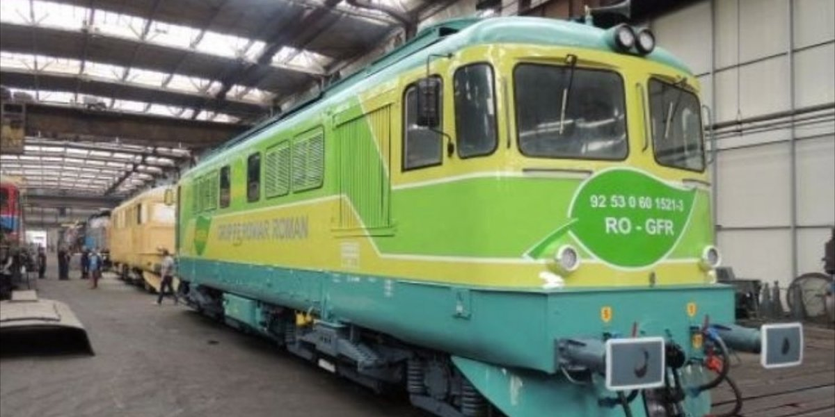The First Biodiesel Locomotive in Romania