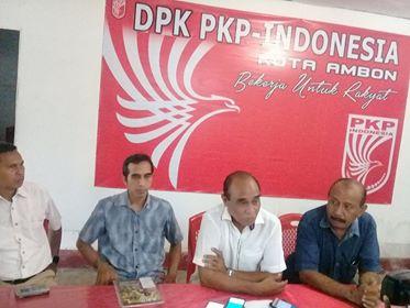 konfrensi pers PKPi Kota Ambon