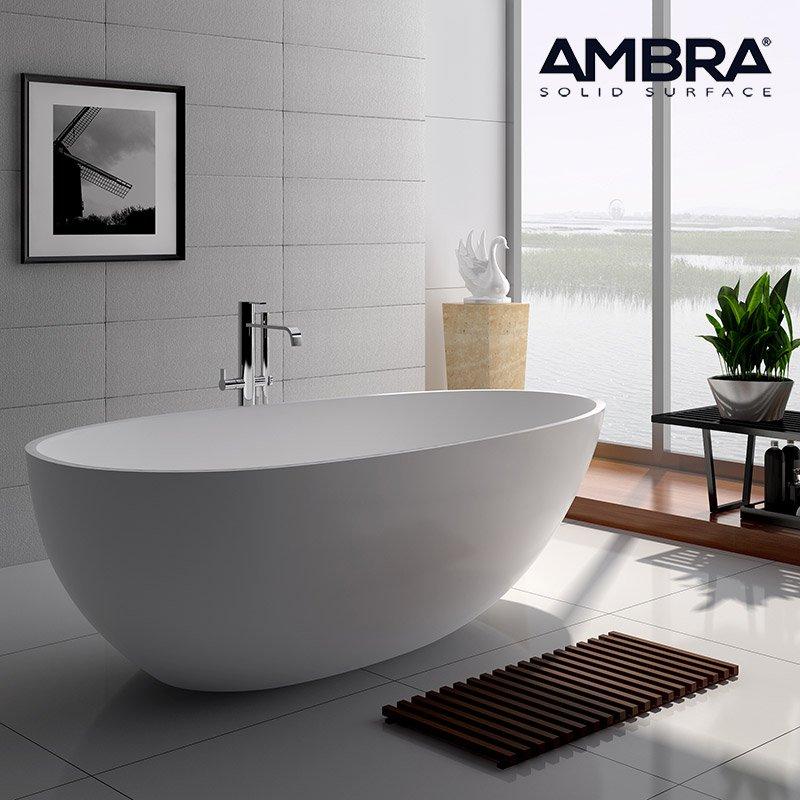 baignoire ilot 180 cm en solid surface