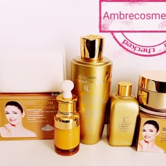 GLUTATHIONE CONCENTRE NEW SKIN GOLD VIP 5 PIECES LAIT & CREME & LOTION & SERUM & SAVON