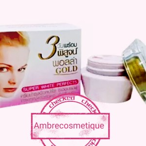 POLLA GOLD SUPER WHITE PERFECT CREME VISAGE