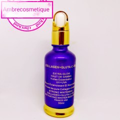 HUILE ECLAIRCISSANTE COLLAGENE & GLUTA & VIT C EXTRA GLOW PROTECTION UV