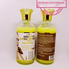 SERUM CONCENTRE GLUTATHIONE & BAVE ESCARGOT SUPER ECLAIRCISSANT VITAMINE C & E