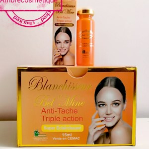 BLANCHISSEUR BEL MINE GLUTATHIONE COLLAGENE PLACENTA ECLAIRCISSANT INTENSE