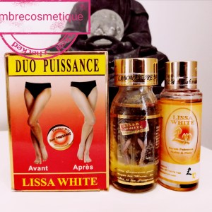 LISSA WHITE DUO ANTI TACHES GOMMANT ULTRA ECLAIRCISSANT ZONES REBELLES