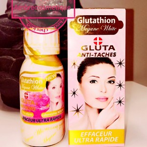 SERUM GLUTATHION MEGANE WHITE ANTI TACHES EFFACEUR ULTRA RAPIDE