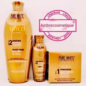GAMME PURE WHITE GOLD GAMME ECLAIRCISSANTE 3 PIECES