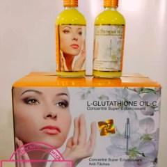 HUILE L-GLUTATHIONE & COLLAGENE & VIT C EXTRA GLOW ECLAIRCISSANT INTENSE