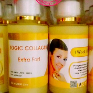 COLLAGENE &KOJIC & ACIDE DE FRUIT CONCENTRE SERUM ANTI TACHES SUPER ECLAIRCISSANT