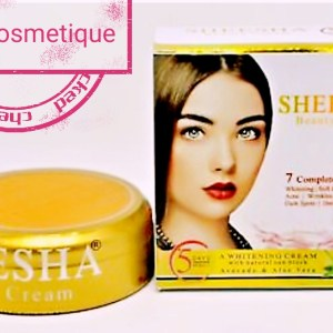 CREME ECLAIRCISSANTE ULTRA FORT ANTI ACNE & ANTI MELASMA AVOCAT & ALOE VERA SHEESHA