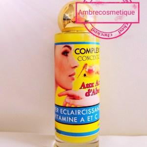 CONCENTRE COMPLEXION-6 PLUS SUPER ECLAIRCISSANT CIRE ABEILLE & CAROTTE