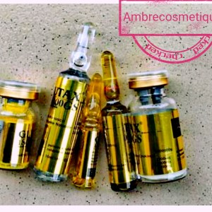 GOLD GLUTAX 1800000 LIMITED EDITION INJECTION BLANCHISANTES ANTI-ÂGE & ANTI-TACHES TRÈS PUISSANT