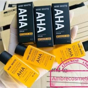 AHA & ACIDES DE FRUITS MIMI WHITE ANTI TACHE ECLAIRCISSANT SERUM CORPS ORIGINAL