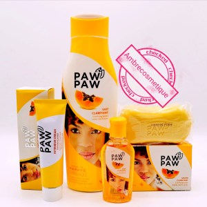 GAMME ULTRA ECLAIRCISSANTE PAPAYA KOJIC & GLUTATHIONE PAW PAW 4 PIECES
