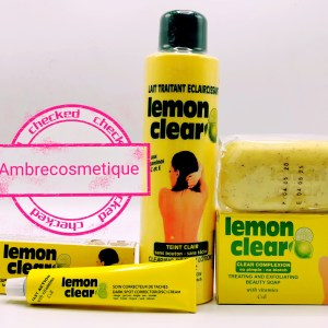 GAMME ECLAIRCISSANTE LEMON CLEAR ANTI TACHES 3 PIECES FAST ACTION