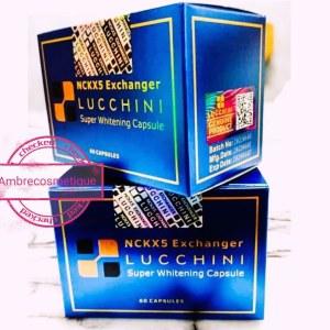 NCKX5 EXCHANGER LUCCHINI SUPER WHITENING CAPSULES GLUTATHIONE & VITAMINE C & NONAPEPTIDE