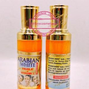 ARABIAN WHITE HUILE ECLAIRCISSANTE AU GLUTATHIONE & COLLAGENE & VITAMINE C ANTI TACHES