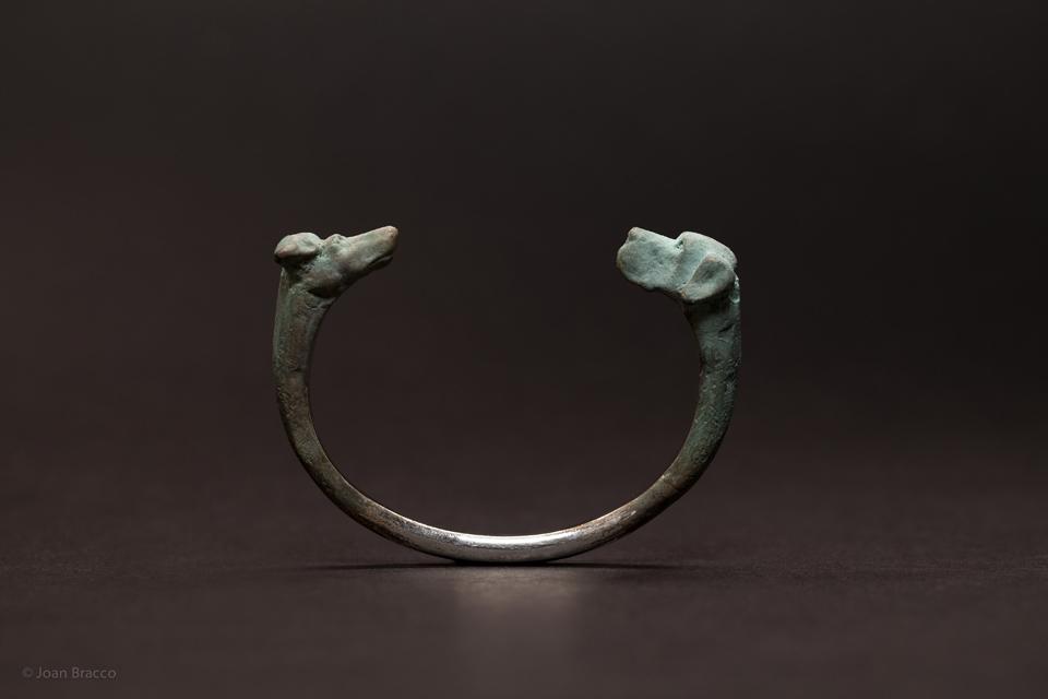 bracelet, 2011 : patinated silver