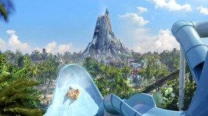 Universal's Volcano Bay. Photo Credit: Inside the Magic