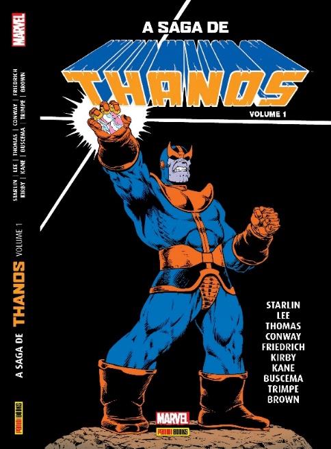 A Saga de Thanos é lançada no Brasil pela Panini | Lançamentos | Revista Ambrosia