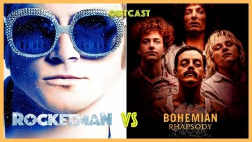 Rocketman vs Bohemian Rhapsody no Outcast! | Elton John | Revista Ambrosia