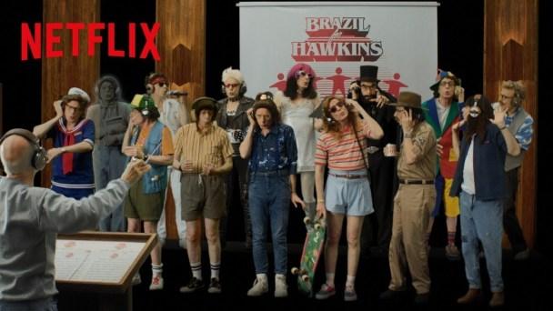 Stranger Things 3 - Carlos Moreno faz a paródia de 'We Are the World', 'Brazil for Hawkins' | Stranger Things | Revista Ambrosia