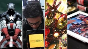 Panini lança quadrinhos digitais da Marvel Comics - 2q News   Quadrinhos   Revista Ambrosia
