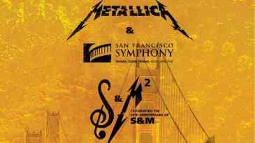 - Metallica - Rede Cinemark exibe o novo show do Metallica com a Filarmônica de San Francisco
