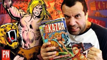 O primeiro herói da Marvel: Ka-Zar | Stan Lee | Revista Ambrosia