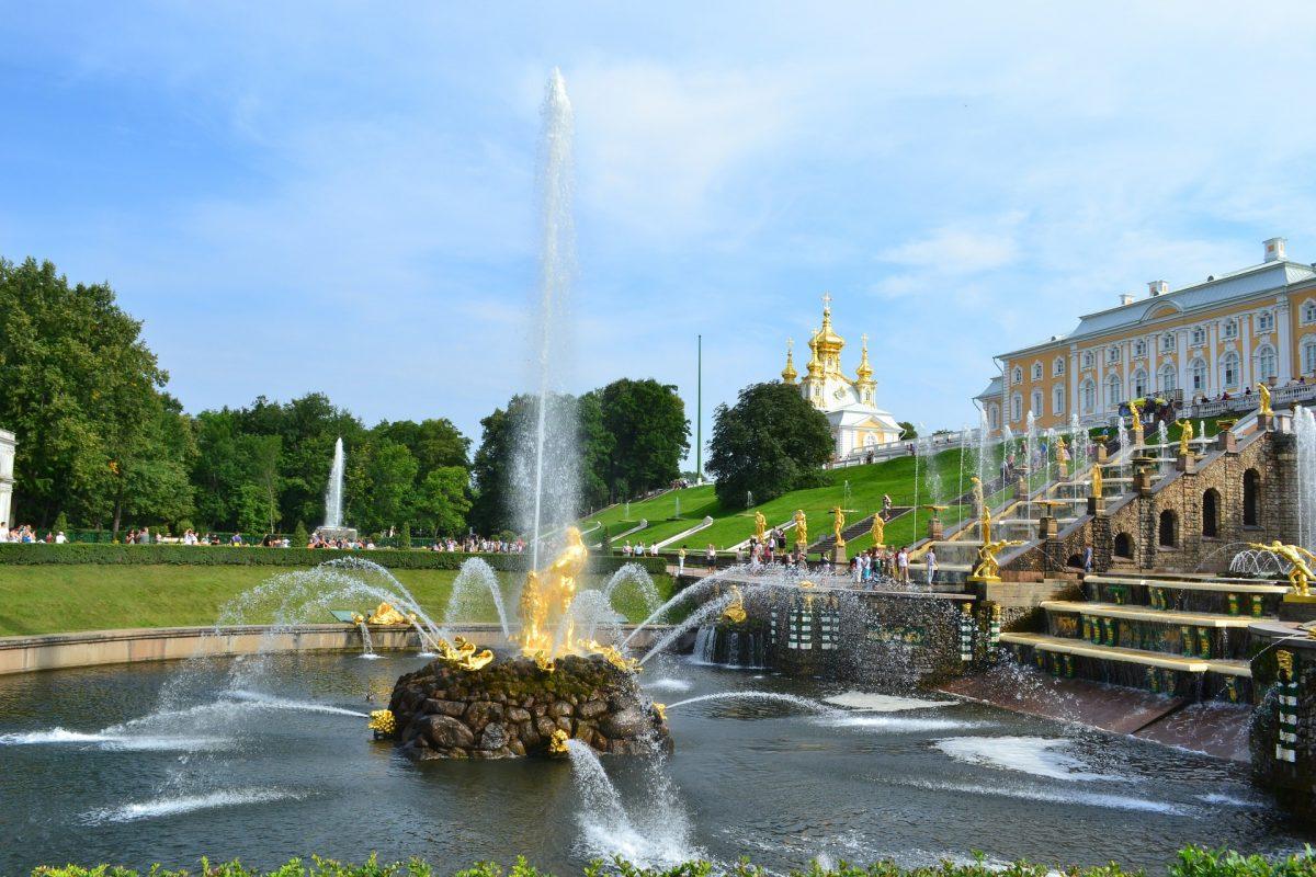 russia - peterhof palace
