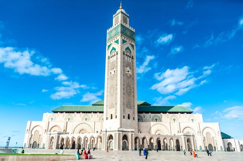 casablanca - hassan mosque