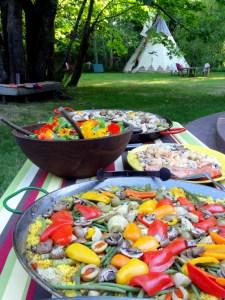 paella-at-the-tipi-village-retreat