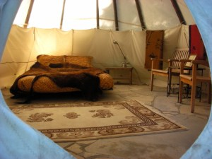 glamping women's yoga retreat