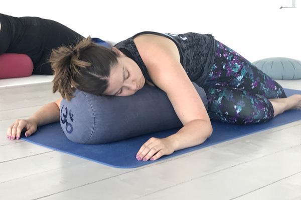 restorative yoga twist