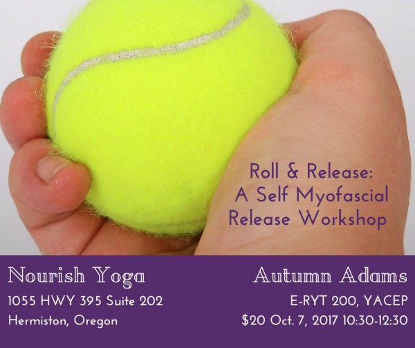 yoga workshop hermiston roll and release