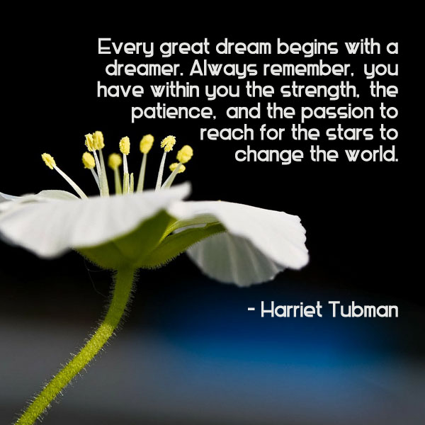 Harriet Tubman Quote Ambuja Yoga Fascinating Harriet Tubman Quotes