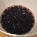 blackberry sorbet recipe mixed