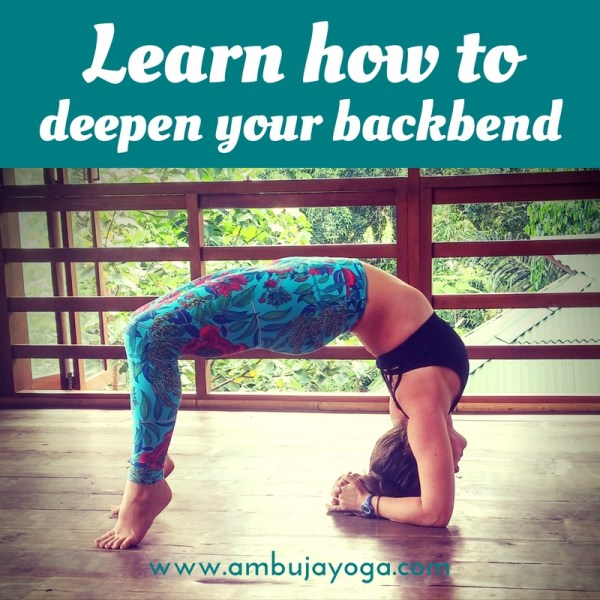 backbend deeper