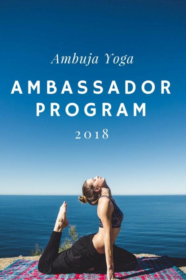 yoga ambassador program
