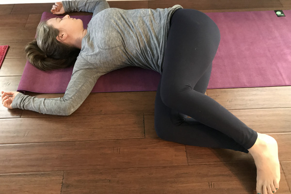 simple twist yoga for better posture