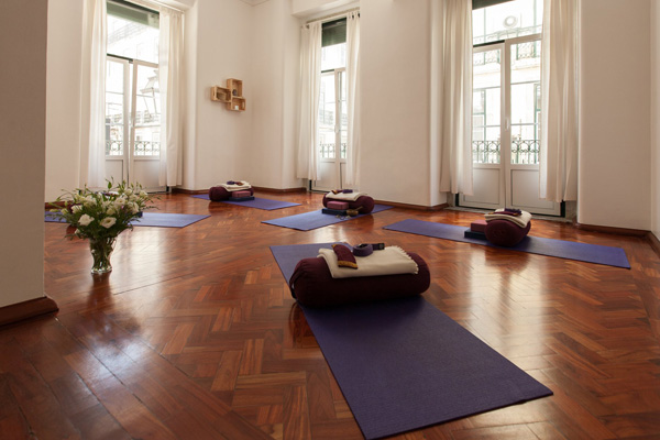 yoga studio in Lisbon