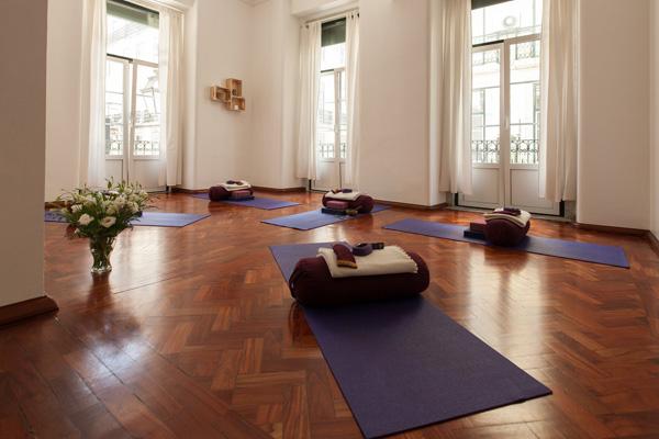 yoga studio in Lisbon