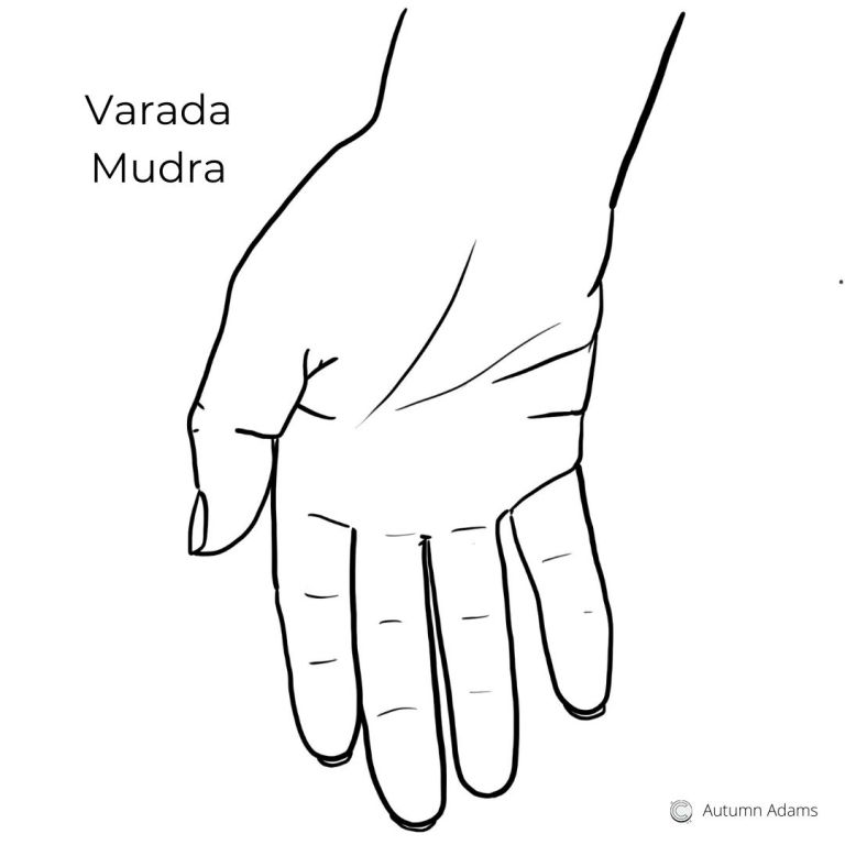best meditation hand positions - varada mudra