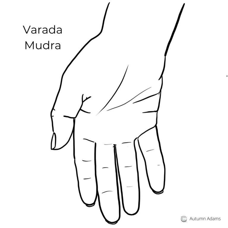 best meditation hand positions - varada mudra