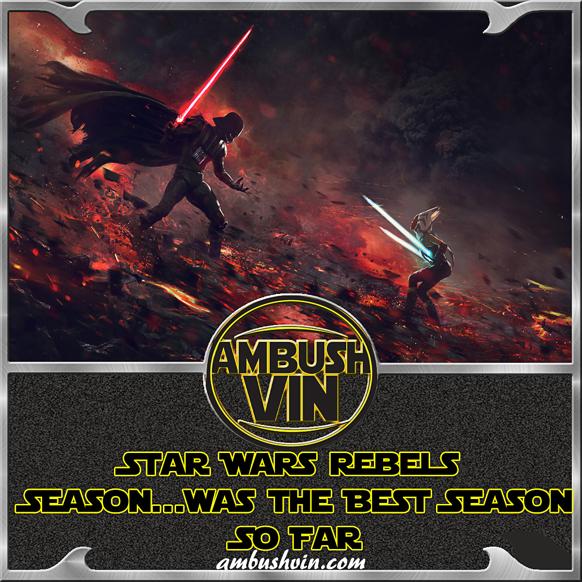 Star Wars Rebels Season…was the Best Season So Far