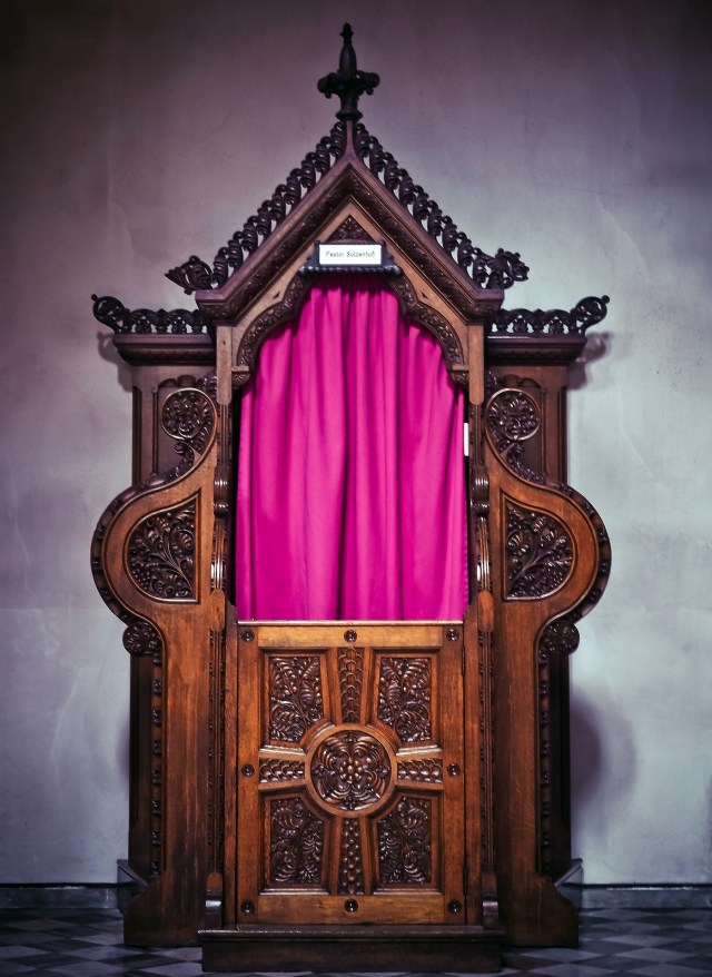 Confession booth